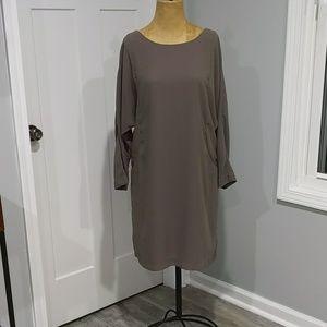 Taupe Gap Shift Dress